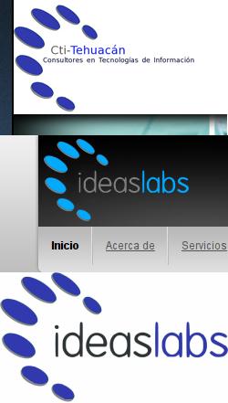 plagio del logo de ideaslabs